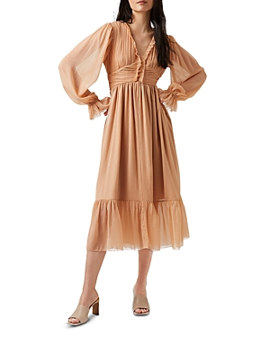 French Connection Alita Pleated Dress
