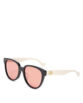 Gucci - Women's Round Sunglasses, 55mm