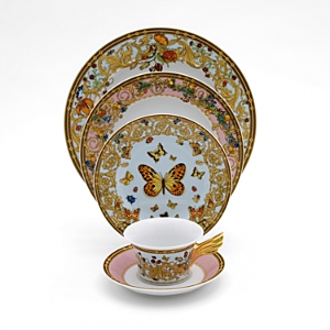 Rosenthal Meets Versace Butterfly Garden Service Plate