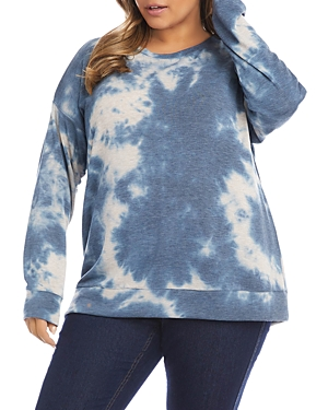 Pullover Tie Dyed Top
