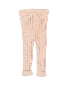 Tun Tun - Girls' Cotton Ribbed Knit Leggings - Baby