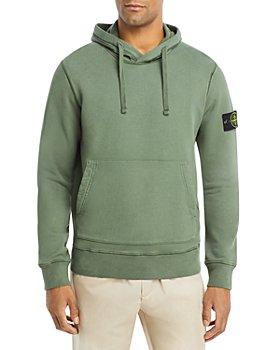 Stone Island - Cotton Logo Patch Regular Fit Hoodie