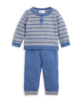 Bloomie's Baby - Boys' Striped Sweater & Sweater Pants Set, Baby - 100% Exclusive