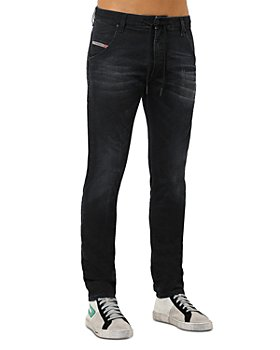 Diesel - Krooley-Y-Ne Straight Slim Fit Jogg Jeans in Denim