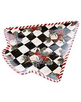 Mackenzie-Childs - Scottish Bouquet Cookie Plate