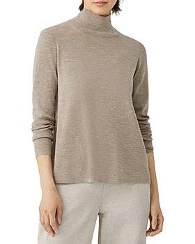 Eileen Fisher - Scrunch Neck Sweater