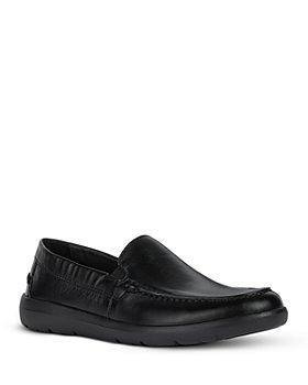 Geox - Men's Leitan Leather Moc Toe Loafers
