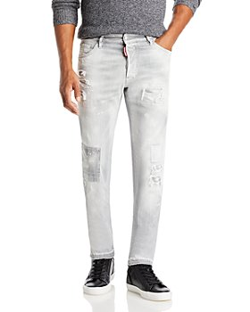 DSQUARED2 - Made With Love Cool Guy Straight Fit Jeans in Gray