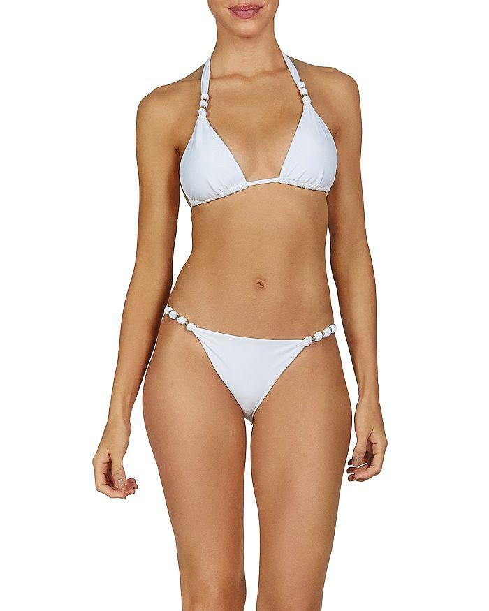 ViX - Paula Halter Bikini Top & Paula Beaded Strap Bikini Bottom