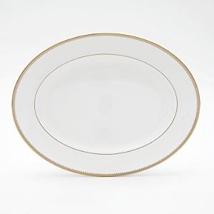 Vera Wang Wedgwood Golden Grosgrain Platter, Small