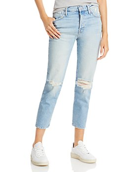 MOTHER - The Scrapper Ankle Jeans in Bless You, Again!