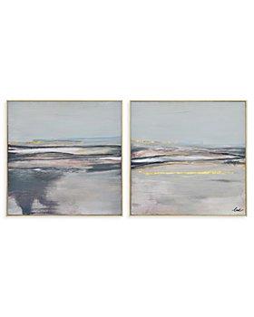 "Ren-Wil - Salinas Scenic Canvas Wall Art, 24"" x 24"", Set of 2"