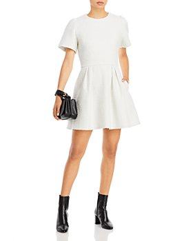 AQUA - Fit & Flare Mini Dress - 100% Exclusive