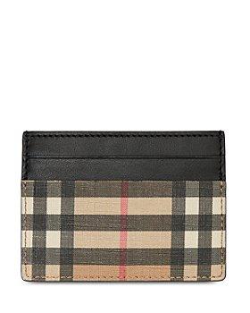 Burberry - Sandon Vintage Check Card Case