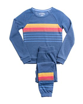 PJ Salvage - Unisex Stay Cozy Fleece Pajama Set - Big Kid