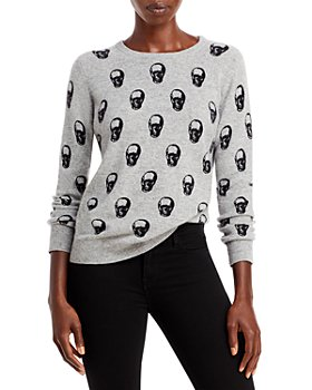 Chelsea & Theodore - Cashmere Skull Print Sweater (64% off) – Comparable value $248
