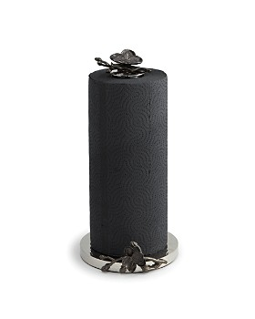 Michael Aram Black Orchid Towel Holder
