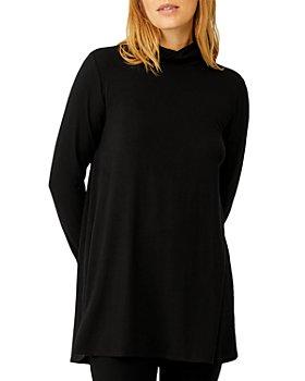 Eileen Fisher - Scrunch Neck Tunic