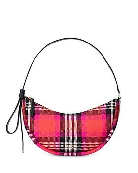 kate spade new york - Smile Small Foliage Plaid Shoulder Bag