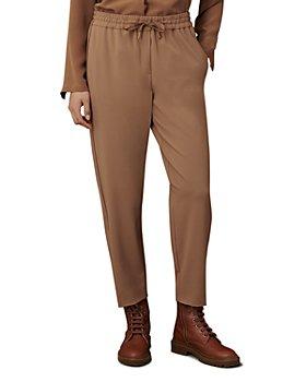 Marella - Monochrome Drawstring Trousers