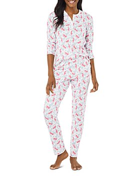 Roller Rabbit - Cheetah Garden Pajama Set