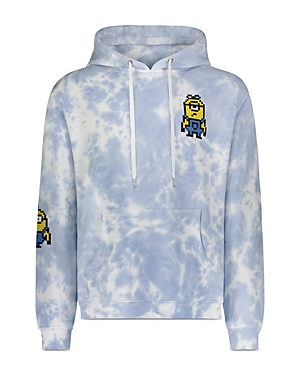 8-Bit by Mostly Heard Rarely Seen Floating Minions Graphic Hoodie