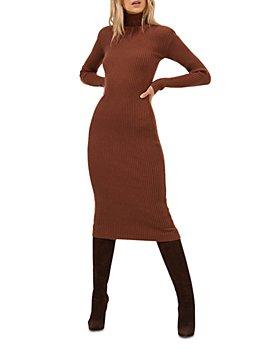 ASTR the Label - Abilene Ribbed Sweater Dress