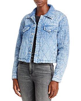 BLANKNYC - Quilted Puffer Denim Jacket