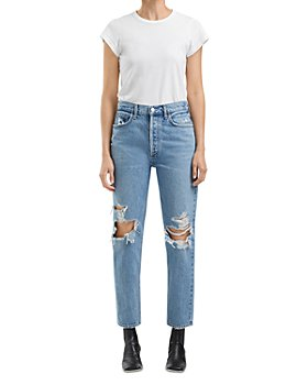 AGOLDE - Fen High Rise Relaxed Jeans in Wander