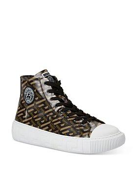 Versace - Monogram High Top Sneakers