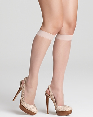 Nude Knee-Highs