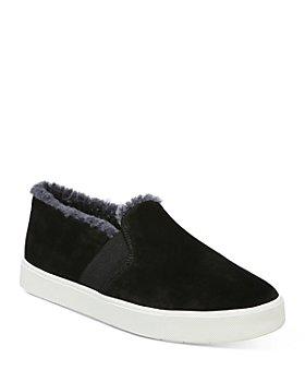 Vince - Women's Blair Shearling Slip On Sneakers