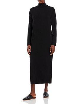 Eileen Fisher - Scrunch Neck Midi Dress