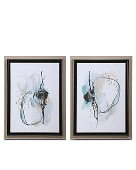 Uttermost - Force Reaction Abstract Prints, Set of 2