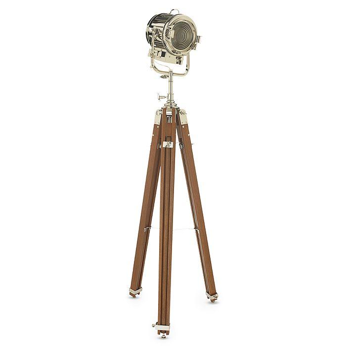 """Ralph Lauren - Ralph Lauren Home """"Montauk"""" Search Light Floor Lamp"""