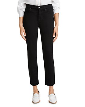 7 For All Mankind - Josefina Cropped Jeans in Nightfall