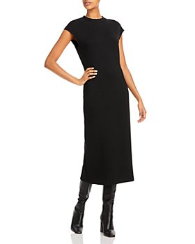 Theory - Cap Sleeve Midi Dress