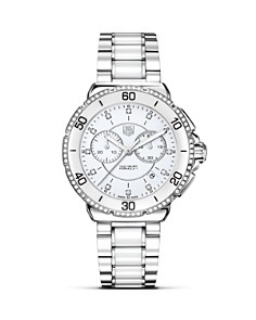 """TAG Heuer """"Formula1"""" Ceramic & Steel Chronograph Watch with Diamonds, 41mm - Bloomingdale's_0"""