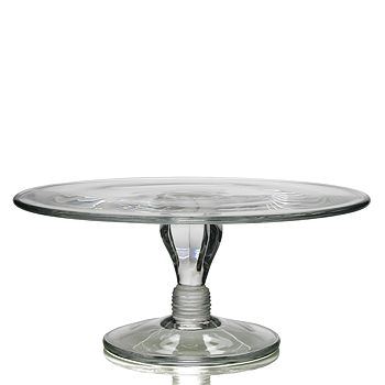 """William Yeoward Crystal - Country 12"""" Cake Stand"""