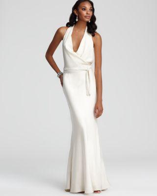 Nicole Miller Halter Dress