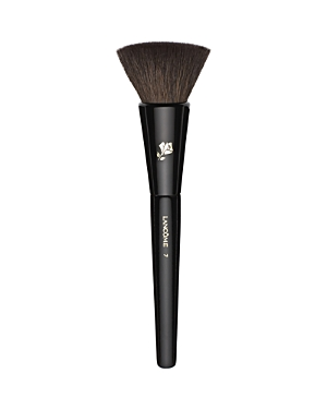 What It Is: This natural-bristled, versatile brush is the ideal partner to all Lancome blush products. What It Does: The wide, flat bristled head precisely and evenly sweeps powder blush and cream-to-powder color for a professional blushing effect.