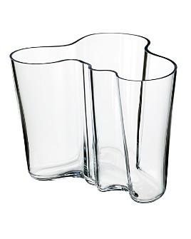 """Iittala - Aalto 6.25"""" Clear Vase"""