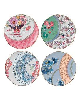Wedgwood - Butterfly Bloom Tidbit Plates, Set of 4