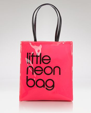 30c3a40378f2 Bloomingdale s - Tote - Little Neon Bag - 100% Exclusive