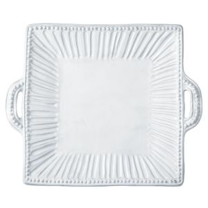 Vietri Incanto Square Handled Platter
