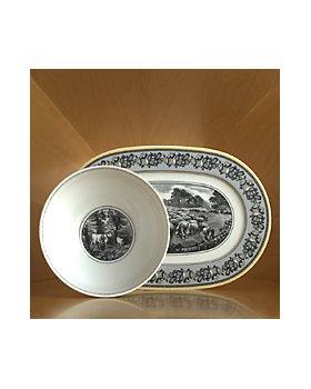 """Villeroy & Boch - Audun Ferme 13.25"""" Oval Platter"""