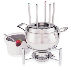 All Clad Stainless Steel Fondue Set with Ceramic Insert - Bloomingdale's Registry_0