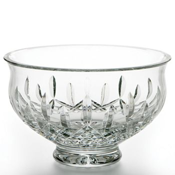 """Waterford - Lismore Crystal Footed Bowl, 8"""""""