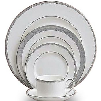 "Vera Wang - for Wedgwood ""Grosgrain"" Tea Saucer"