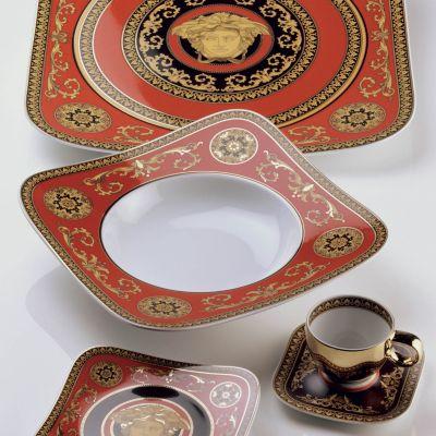 """""""Medusa"""" Red Cereal Bowl"""